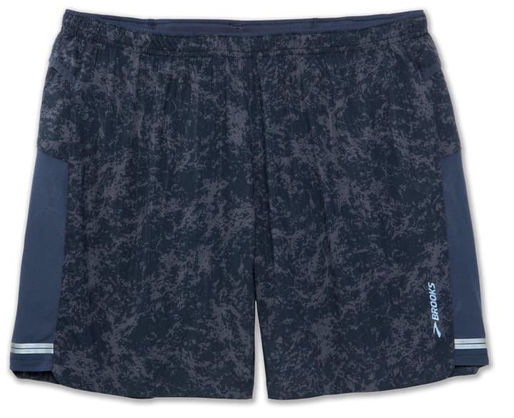 Sherpa 7'' 2in1-Short Short pour homme Brooks 470154500422 Couleur bleu foncé Taille M Photo no. 1