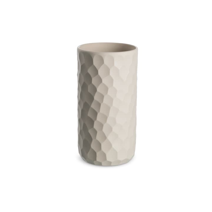 AMELIE vase 396120400000 Dimensions L: 8.5 cm x P: 8.5 cm x H: 16.0 cm Couleur Beige Photo no. 1