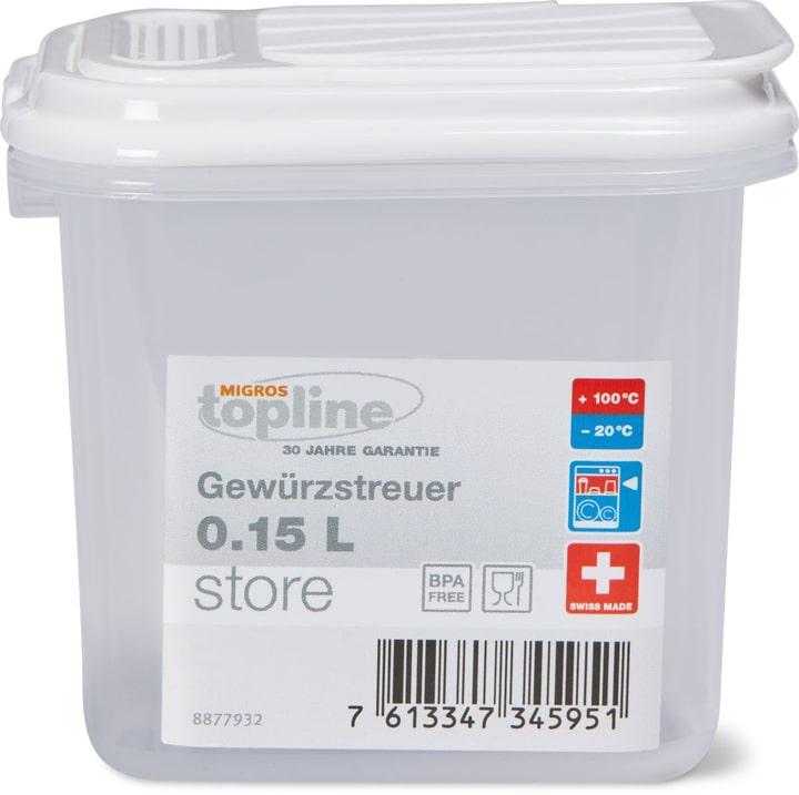 STORE Gewürzstreuer 0.15L M-Topline 703728900000 Bild Nr. 1