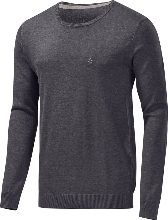 Uperstand Crew Pullover pour homme VOLCOM 462385400443 Couleur bleu marine Taille M Photo no. 1