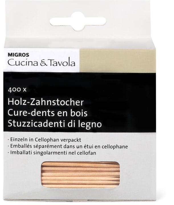 CUCINA & TAVOLA Stuzzicadenti di legno Cucina & Tavola 704018100000 Colore Marrone N. figura 1