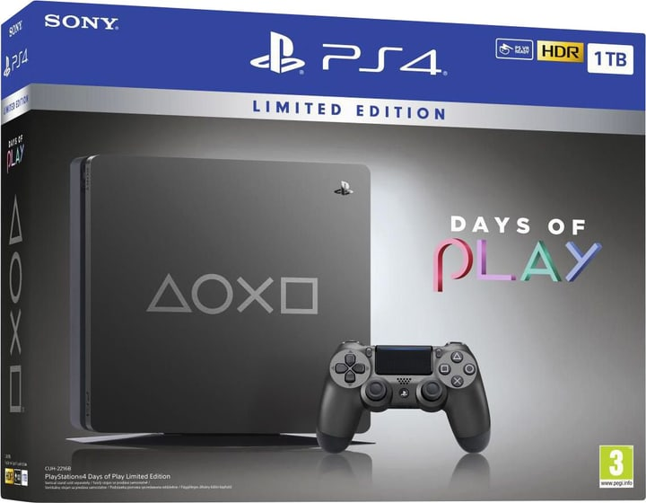 PlayStation 4 1TB Days of Play Limited Edition Console de jeu Sony 785443800000 Photo no. 1