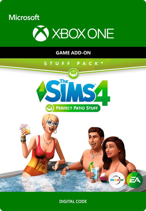 Xbox One - THE SIMS 4: PERFECT PATIO STUFF Download (ESD) 785300136287 N. figura 1