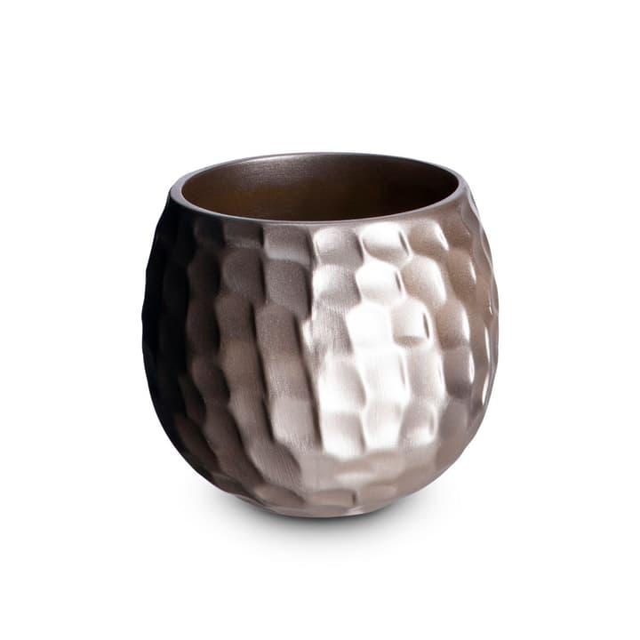 PELA Cache-pot 382035000000 Dimensions L: 18.0 cm x P: 18.0 cm x H: 16.0 cm Couleur Bronze Photo no. 1