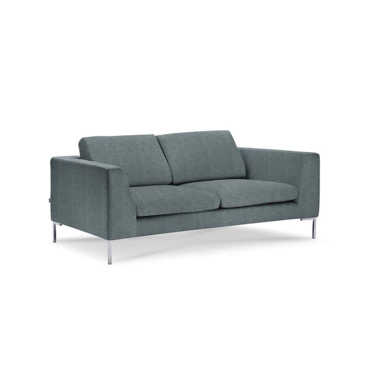 NEWTON Drom canapè à 2 places 360043437106 Dimensions L: 180.0 cm x P: 102.0 cm x H: 80.0 cm Couleur Turquoise Photo no. 1