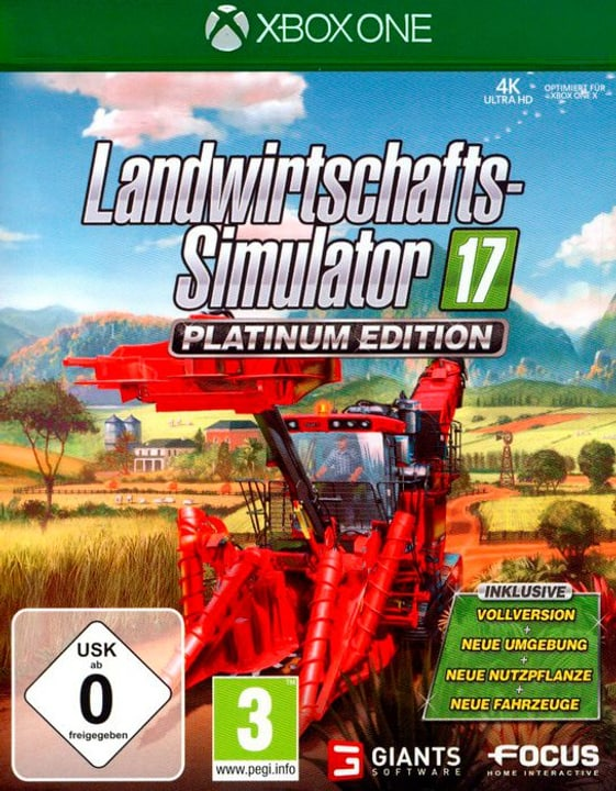 Xbox One - Landwirtschafts-Simulator 17 Platinum Edition (D) 785300130525 N. figura 1