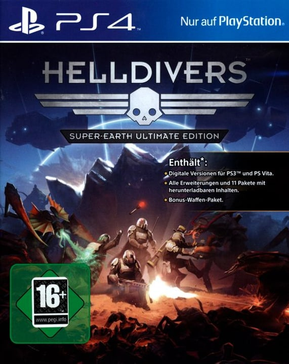 PS4 - Helldivers Super-Earth - Ultimate Edition 785300122496 Photo no. 1