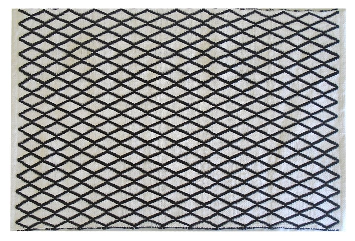 INA Tapis de bain 453023051220 Couleur Noir Dimensions L: 90.0 cm x P: 60.0 cm x H:  Photo no. 1