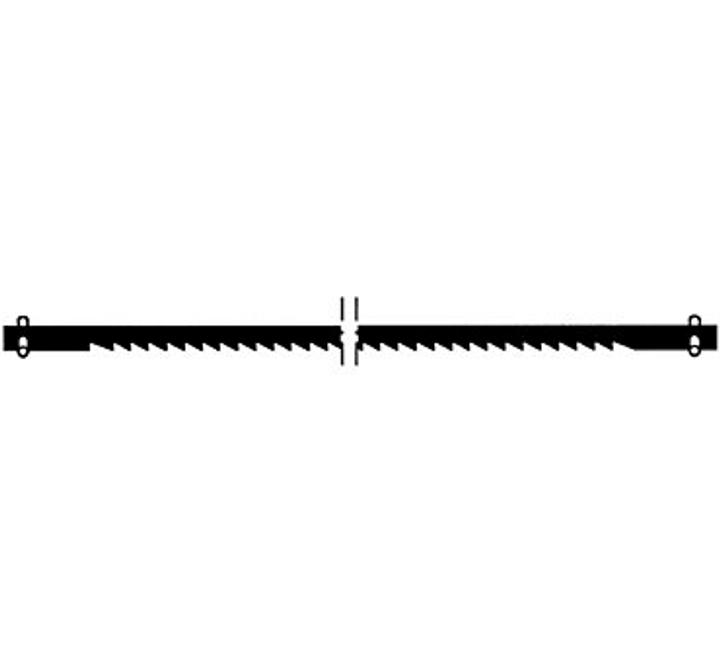 Lama die sega trasversale fine 25Z/25mm Wolfcraft 616860900000 N. figura 1
