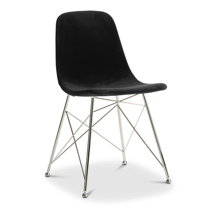 SEDIA Chaise 366170300000 Couleur Noir Dimensions L: 45.0 cm x P: 41.5 cm x H: 84.5 cm Photo no. 1