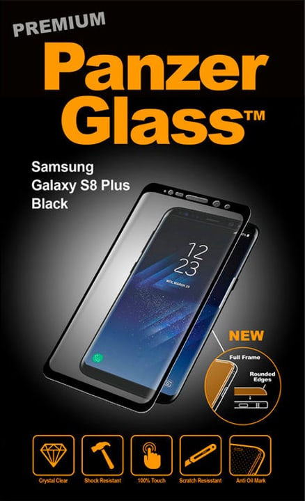 Premium for Galaxy S8 Plus nero Panzerglass 798088800000