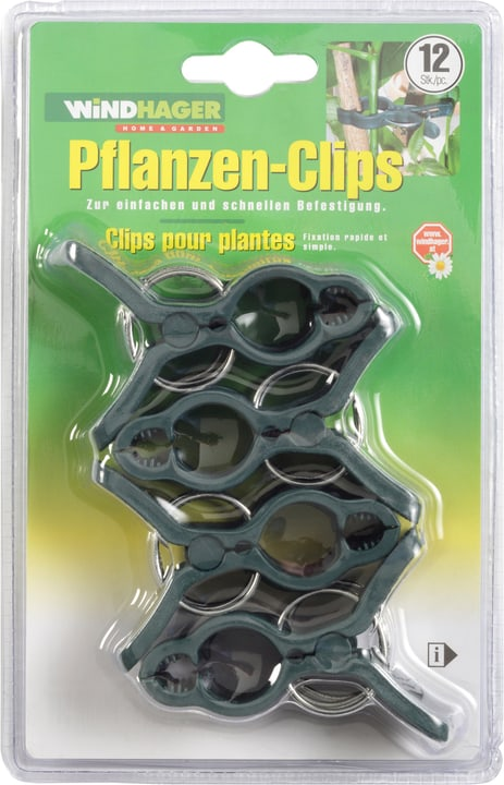 FIX Clips per piante Windhager 631237700000 N. figura 1