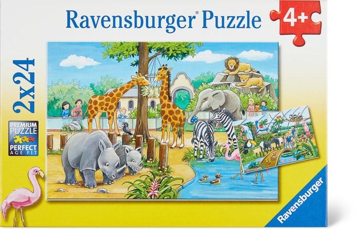 Bienvenue au Zoo Ravensburger Puzzle 748975600000 Photo no. 1