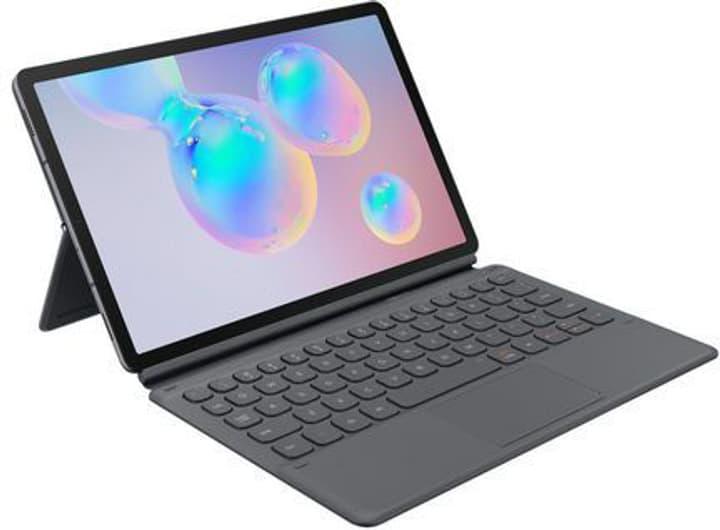 Book Cover Keyboard Tab S6 gray Schutzhülle mit Keyboard Samsung 785300147974 Bild Nr. 1
