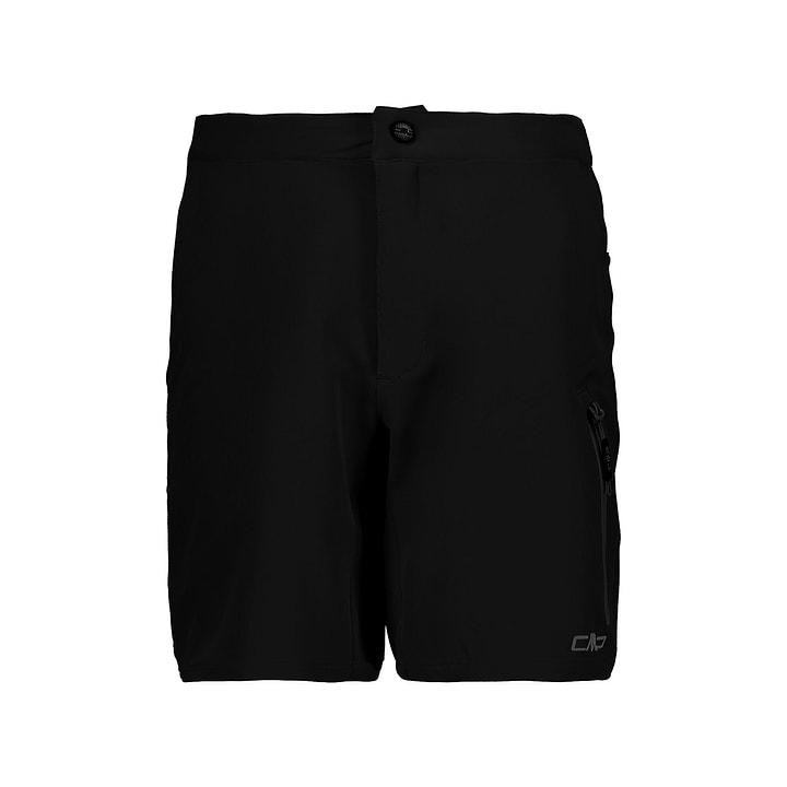 Pantaloncini da ciclista da bambino CMP 466984614020 Colore nero Taglie 140 N. figura 1
