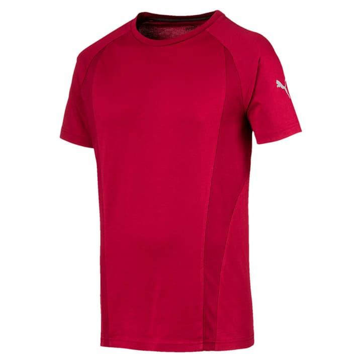 Evostripe Basic Tee T-shirt pour homme Puma 462374500388 Couleur bordeaux Taille S Photo no. 1