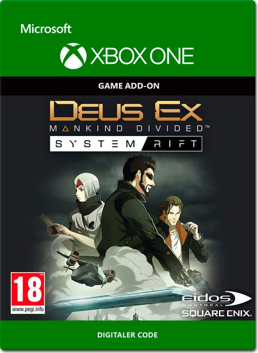 Xbox One - Deus Ex: Mankind Divided - System Rift Digital (ESD) 785300137226 N. figura 1