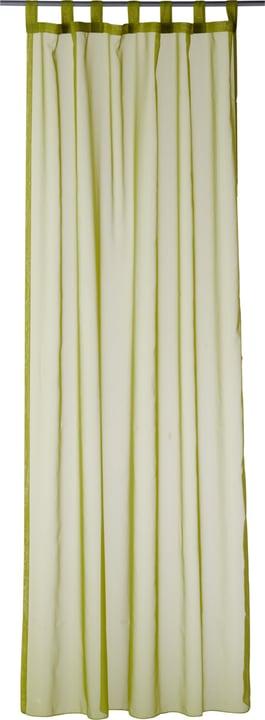 DANA Rideau prêt àposer jour 430259300060 Couleur Vert Dimensions L: 145.0 cm x H: 245.0 cm Photo no. 1