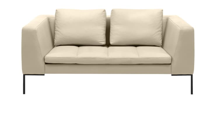 BADER 2er-Sofa 405686120310 Grösse B: 174.0 cm x T: 105.0 cm x H: 80.0 cm Farbe Weiss Bild Nr. 1