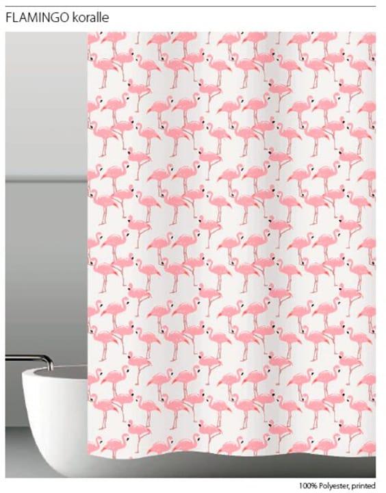Rideau de douche Flamingo diaqua 675595000000 Taille 120 x 200 Photo no. 1