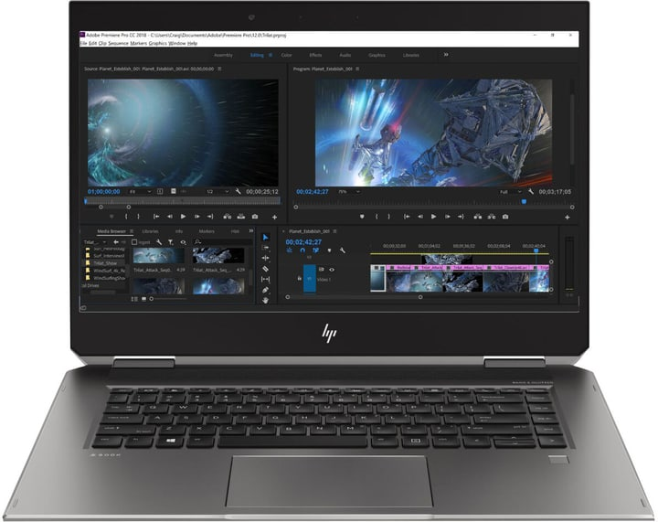 ZBook Studio x360 G5 Convertible HP 785300152738 Photo no. 1