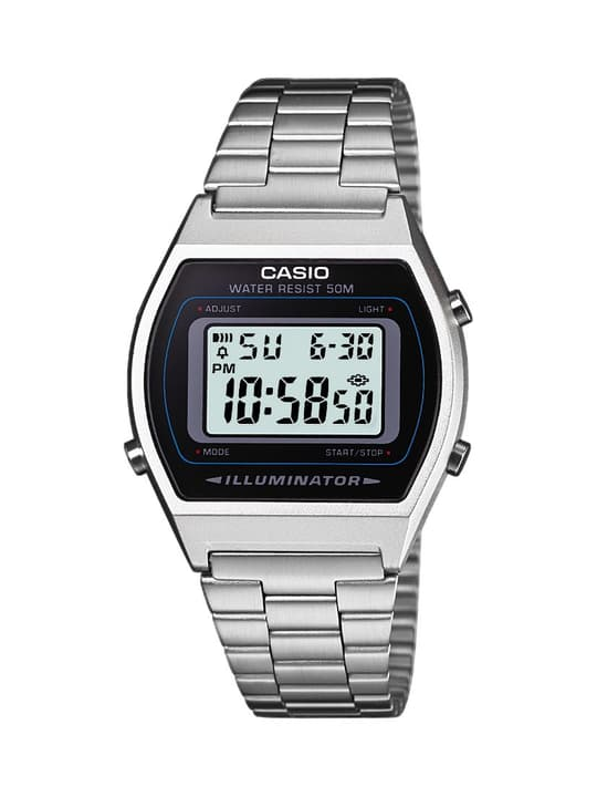 B640WD-1AVEF Retro silver Armbanduhr Casio Collection 760812900000 Bild Nr. 1