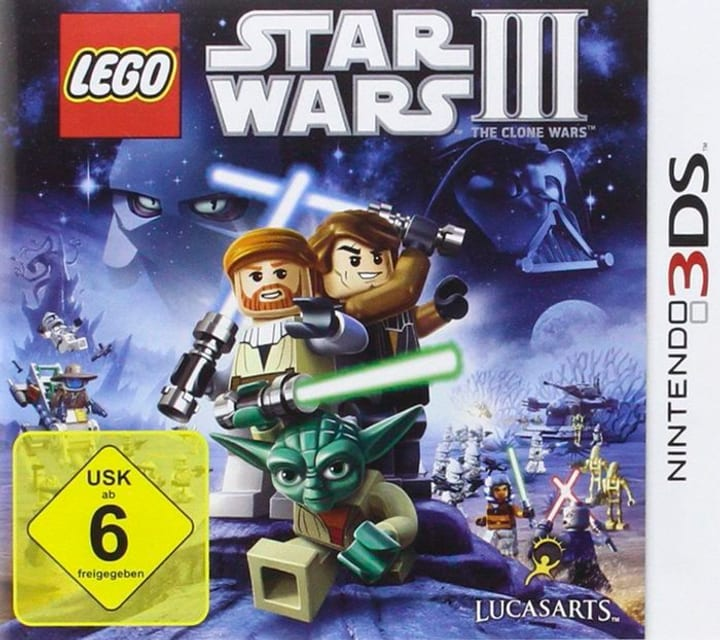 3DS - LEGO Star Wars III 785300122420 Photo no. 1