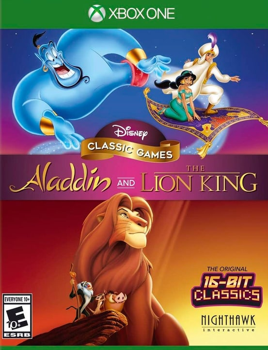 Xbox One - Disney Classic Games Aladdin and The Lion King D Box 785300147174 Photo no. 1