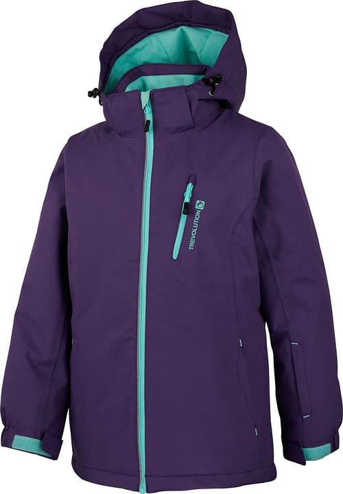 Veste de ski pour fille Trevolution 466929715249 Couleur violet foncé Taille 152 Photo no. 1