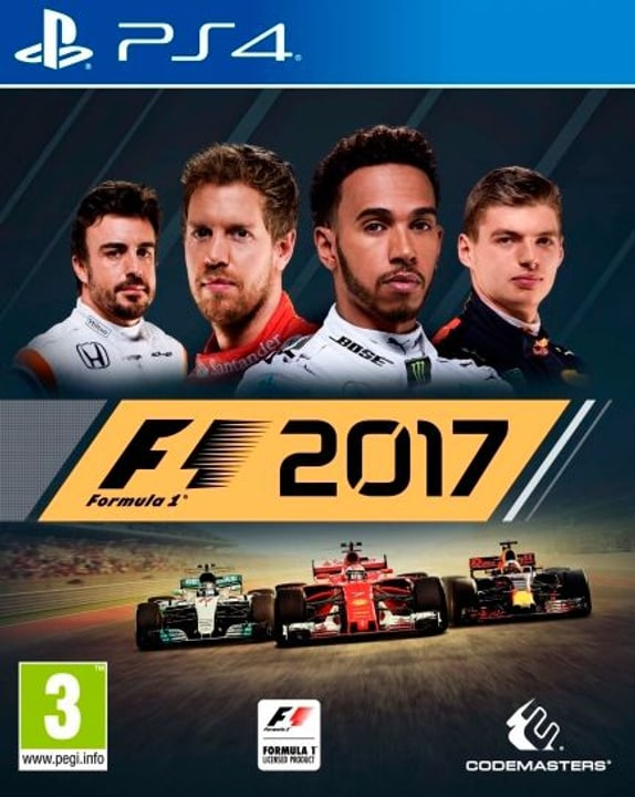 PS4 - F1 2017 Box 785300129972 Photo no. 1