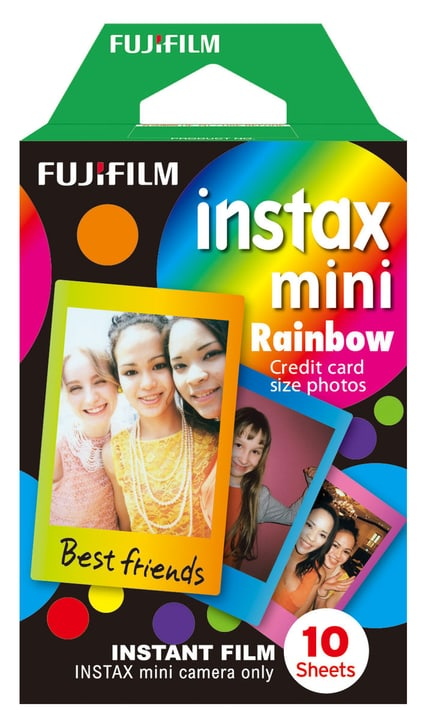 Instax Mini Rainbow 1x10 FUJIFILM 793183400000 Photo no. 1