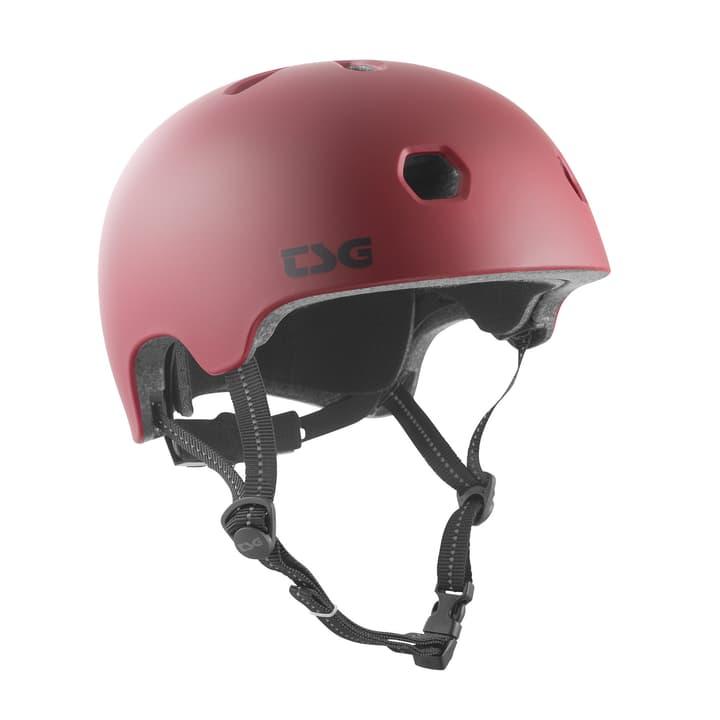 META SOLID COLOR Casque de vélo Tsg 466003358333 Couleur rouge foncé Taille 58-60 Photo no. 1