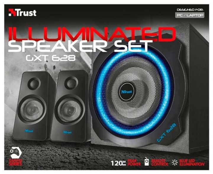 GXT 628 2.1 Illuminated Speaker GXT 628 2.1 Illuminated Speaker Trust-Gaming 797972400000 Bild Nr. 1