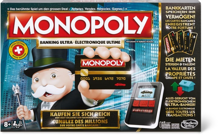 Monopoly Banking Ultra - Monopoly Électronique Ultime 748904000000 Photo no. 1