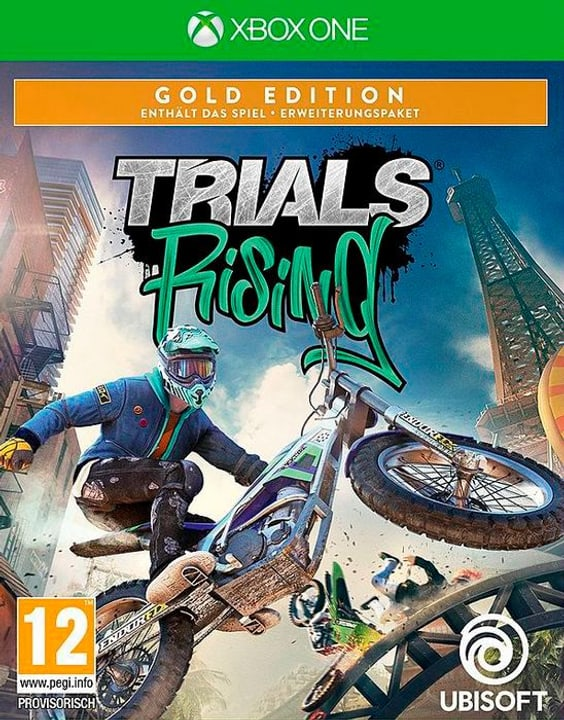 Xbox One - Trials Rising - Gold Edition Box 785300141447 N. figura 1