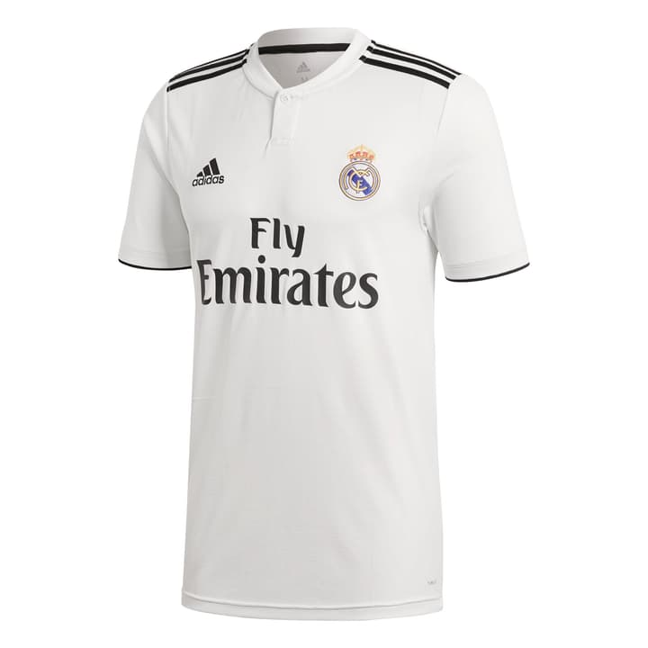 Real Madrid Home Jersey Réplique de maillot de football Adidas 498284700310 Couleur blanc Taille S Photo no. 1