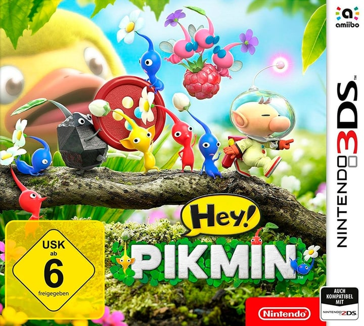 Hey! PIKMIN 3DS (D) Box 785300122447 Photo no. 1