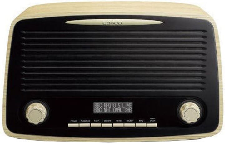 DAR-012 - Wood Digitalradio DAB+ Lenco 785300148619 Bild Nr. 1
