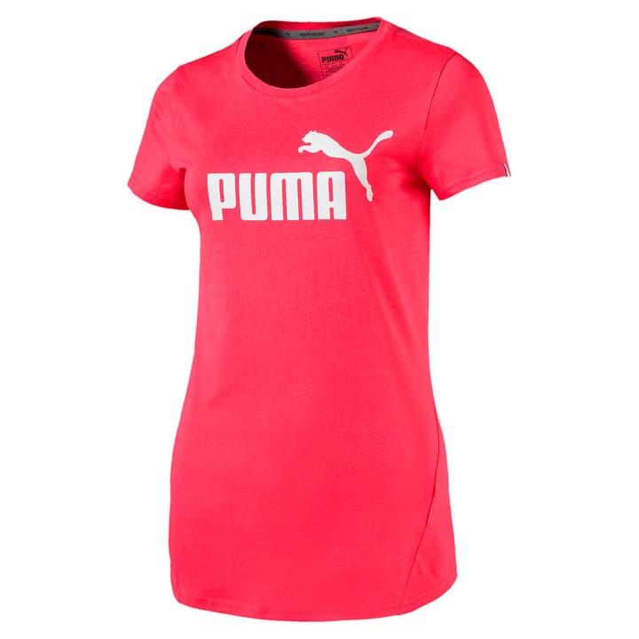 ESS No.1 Tee W T-shirt pour femme Puma 462408300331 Couleur rouge claire Taille S Photo no. 1