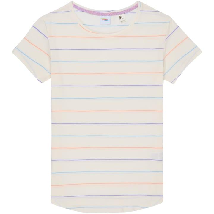 Stripe Logo T-Shirt Damen-T-Shirt O'Neill 463148500510 Farbe weiss Grösse L Bild-Nr. 1