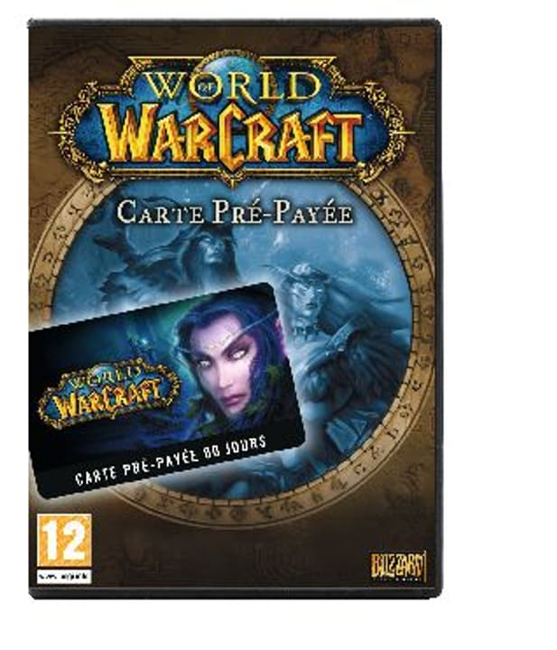 PC - World of Warcraft PrePaid Game Card Fisico (Box) 785300104181 N. figura 1