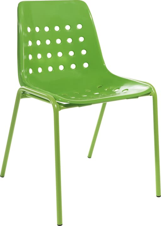 BERMUDA Chaise Schaffner 408027300060 Couleur Vert Dimensions L: 53.0 cm x P: 48.5 cm x H: 80.0 cm Photo no. 1