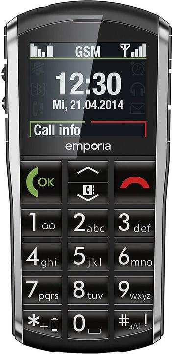 noir Téléphone mobile Emporia 794614700000 Photo no. 1