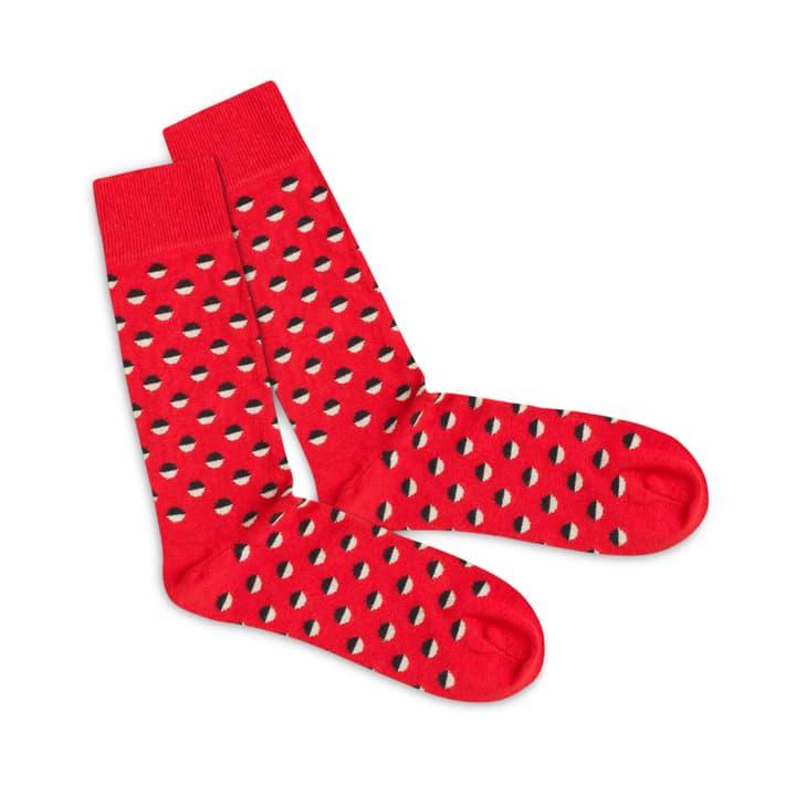 Dilly Socks Red Boccia Gr. 41-46 396121700000 Photo no. 1