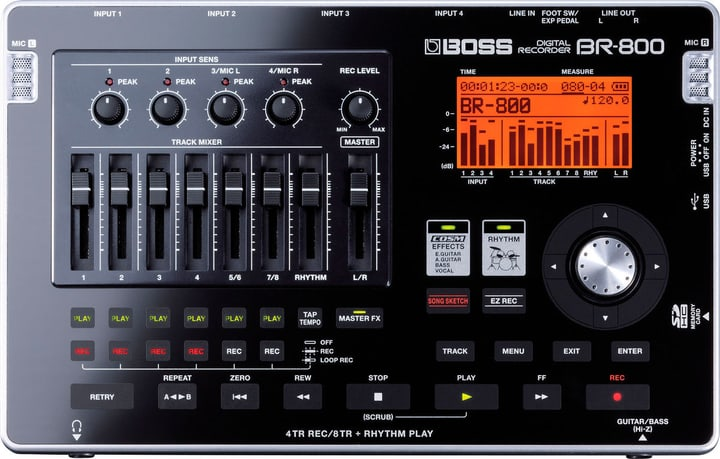 BR-800 Digital Recorder Boss 785300150510 Bild Nr. 1