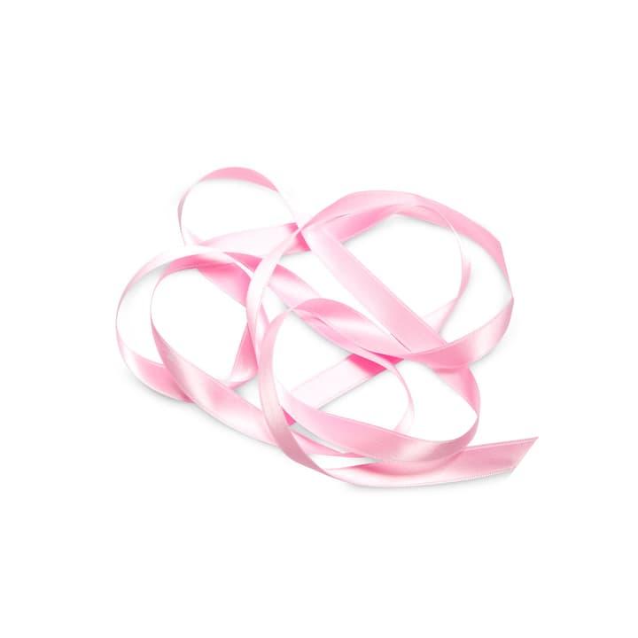 KIKILO Satinband 15mm x 12m 386112000000 Grösse B: 1.2 cm x T: 1.5 cm x H: 0.1 cm Farbe Rosa Bild Nr. 1