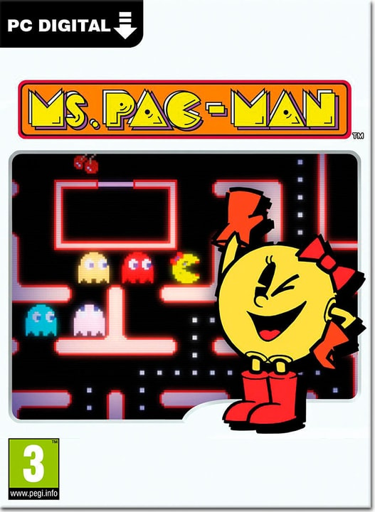 PC - Pac-Man Museum: Ms. Pac-Man DLC - D/F/I Digitale (ESD) 785300134433 N. figura 1