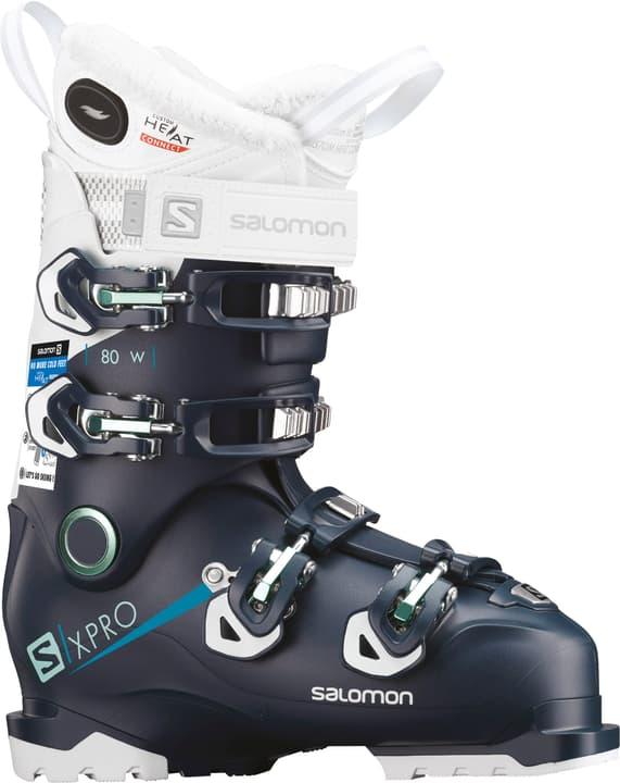 X Pro 80 Custom Heat Damen-Skischuh Salomon 495466223565 Farbe petrol Grösse 23.5 Bild-Nr. 1
