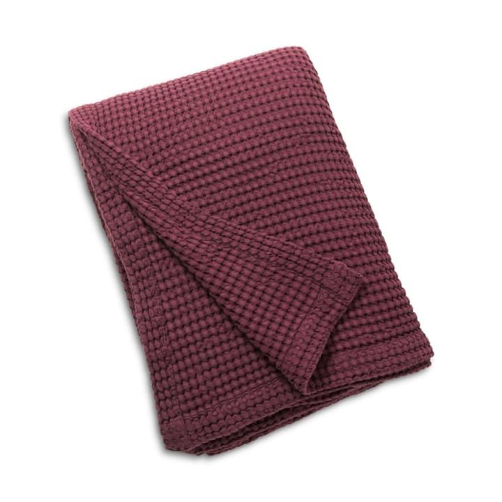 WAFFLE Copriletto 376078344033 Dimensioni L: 260.0 cm x L: 180.0 cm Colore Rosso scuro N. figura 1