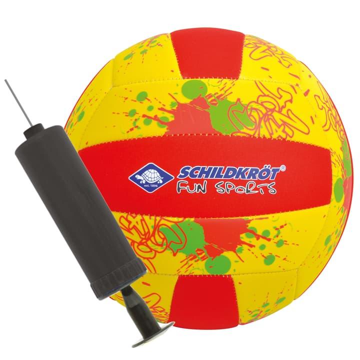 Volley-ball de plage Schildkröt 461934700550 Couleur jaune Taille 5 Photo no. 1